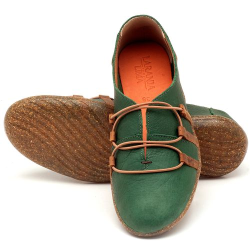 Laranja_Lima_Shoes_Sapatos_Femininos_Tenis_Cano_Baixo_em_Couro_Verde_-_Codigo_-_145006_2