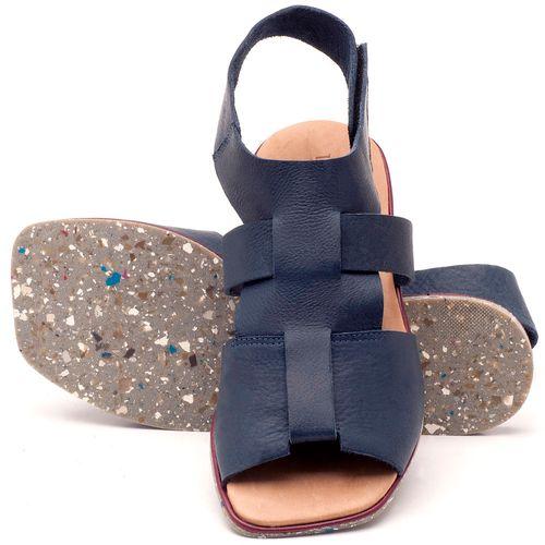 Laranja_Lima_Shoes_Sapatos_Femininos_Sandalia_Rasteira_Flat_em_Couro_Marinho_-_Codigo_-_145030_2