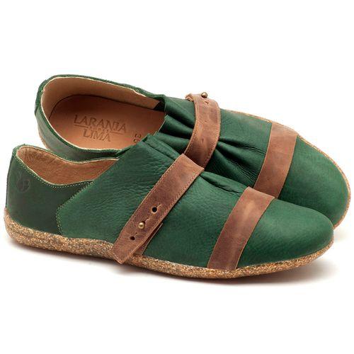 Laranja_Lima_Shoes_Sapatos_Femininos_Tenis_Cano_Baixo_em_Couro_Verde_-_Codigo_-_145031_1