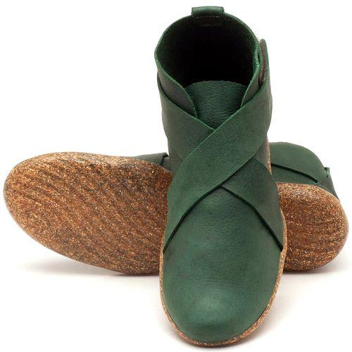 Laranja_Lima_Shoes_Sapatos_Femininos_Flat_Boot_em_Couro_verde_-_Codigo_-_145032_2