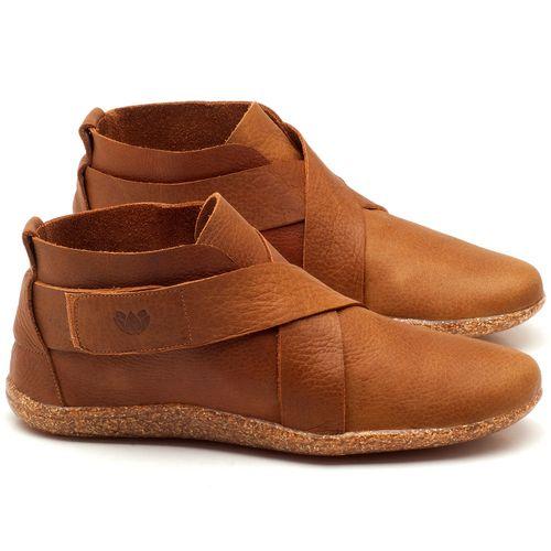 Laranja_Lima_Shoes_Sapatos_Femininos_Flat_Boot_em_Couro_Caramelo_-_Codigo_-_145032_1