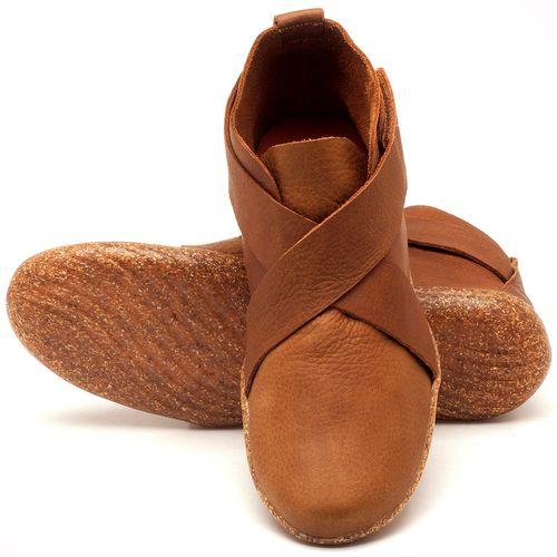 Laranja_Lima_Shoes_Sapatos_Femininos_Flat_Boot_em_Couro_Caramelo_-_Codigo_-_145032_2