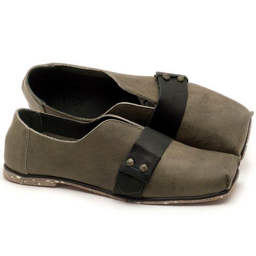Laranja_Lima_Shoes_Sapatos_Femininos_Sapatilha_Bico_Quadrado_em_Couro_Musgo_-_Codigo_-_145035_1