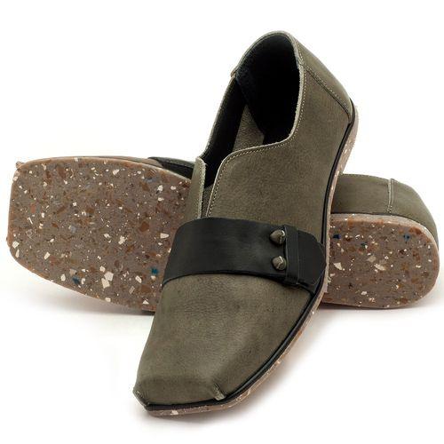 Laranja_Lima_Shoes_Sapatos_Femininos_Sapatilha_Bico_Quadrado_em_Couro_Musgo_-_Codigo_-_145035_2