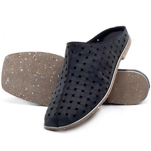 Laranja_Lima_Shoes_Sapatos_Femininos_Sandalia_Rasteira_Flat_em_Couro_Preto_-_Codigo_-_145042_2