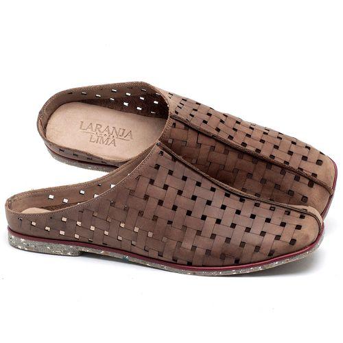 Laranja_Lima_Shoes_Sapatos_Femininos_Sandalia_Rasteira_Flat_em_Couro_Marrom_-_Codigo_-_145042_1