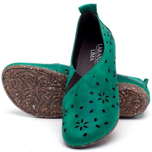 Laranja_Lima_Shoes_Sapatos_Femininos_Sapatilha_Bico_Redondo_em_Couro_Verde_-_Codigo_-_148014_2