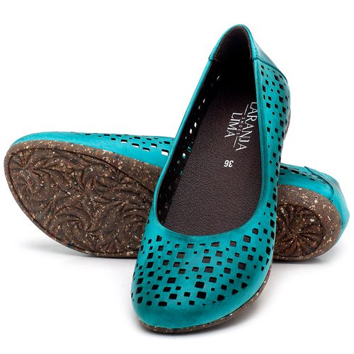 Laranja_Lima_Shoes_Sapatos_Femininos_Sapatilha_Bico_Redondo_em_Couro_Azul_-_Codigo_-_148016_2