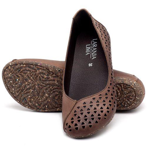 Laranja_Lima_Shoes_Sapatos_Femininos_Sapatilha_Bico_Redondo_em_Couro_Marrom_-_Codigo_-_148017_2