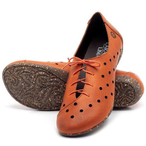 Laranja_Lima_Shoes_Sapatos_Femininos_Sapatilha_Bico_Redondo_em_Couro_Laranja_-_Codigo_-_148018_2