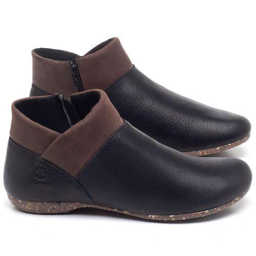 Laranja_Lima_Shoes_Sapatos_Femininos_Flat_Boot_em_Couro_Preto_-_Codigo_-_148024_1