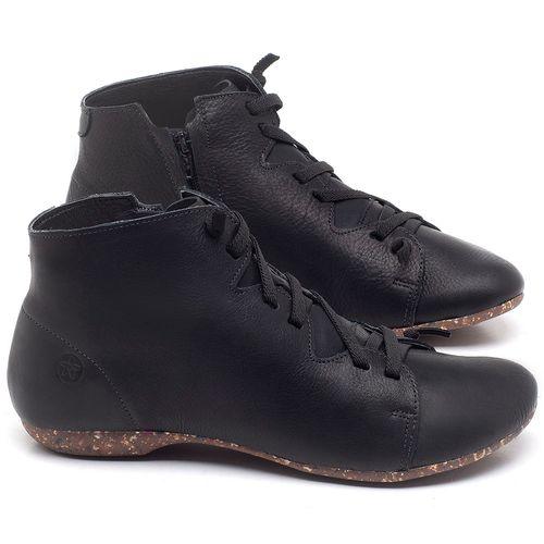Laranja_Lima_Shoes_Sapatos_Femininos_Flat_Boot_em_Couro_Preto_-_Codigo_-_148025_1