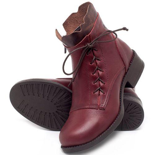 Laranja_Lima_Shoes_Sapatos_Femininos_Bota_Cano_Curto_em_Couro_Vinho_-_Codigo_-_141066_2