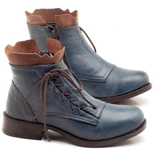 Laranja_Lima_Shoes_Sapatos_Femininos_Bota_Cano_Curto_em_Couro_Marinho_-_Codigo_-_141066_1