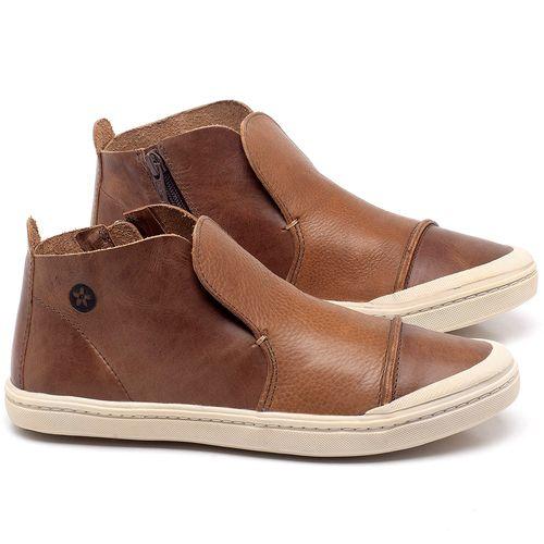 Laranja_Lima_Shoes_Sapatos_Femininos_Tenis_Cano_Alto_em_Couro_Caramelo_-_Codigo_-_141074_1