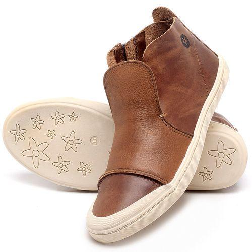 Laranja_Lima_Shoes_Sapatos_Femininos_Tenis_Cano_Alto_em_Couro_Caramelo_-_Codigo_-_141074_2