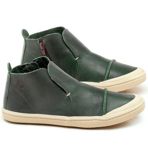 Laranja_Lima_Shoes_Sapatos_Femininos_Tenis_Cano_Alto_em_Couro_Verde_-_Codigo_-_141074_1