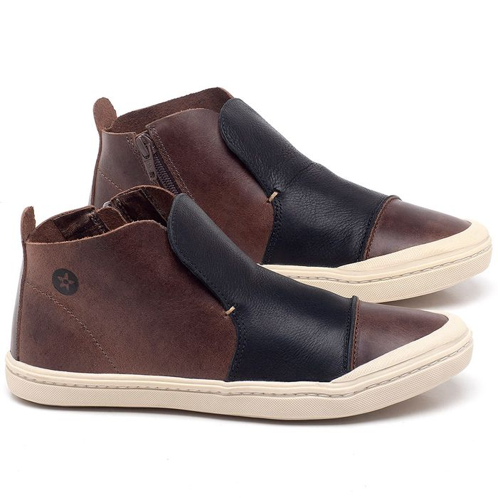 Laranja_Lima_Shoes_Sapatos_Femininos_Tenis_Cano_Alto_em_Couro_Preto_-_Codigo_-_141074_1
