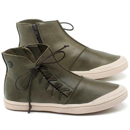 Laranja_Lima_Shoes_Sapatos_Femininos_Tenis_Cano_Alto_em_Couro_Verde_-_Codigo_-_141073_1