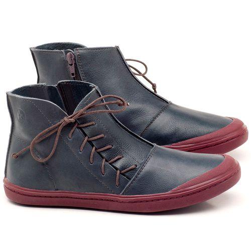 Laranja_Lima_Shoes_Sapatos_Femininos_Tenis_Cano_Alto_em_Couro_Marinho_-_Codigo_-_141073_1