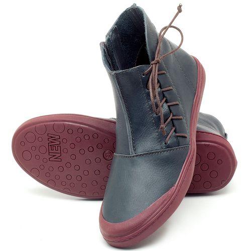Laranja_Lima_Shoes_Sapatos_Femininos_Tenis_Cano_Alto_em_Couro_Marinho_-_Codigo_-_141073_2