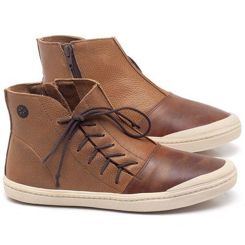 Laranja_Lima_Shoes_Sapatos_Femininos_Tenis_Cano_Alto_em_Couro_Caramelo_-_Codigo_-_141073_1