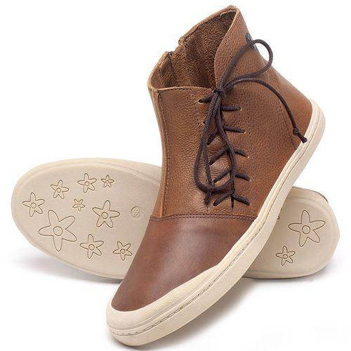 Laranja_Lima_Shoes_Sapatos_Femininos_Tenis_Cano_Alto_em_Couro_Caramelo_-_Codigo_-_141073_2
