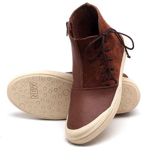 Laranja_Lima_Shoes_Sapatos_Femininos_Tenis_Cano_Alto_em_Couro_Marrom_-_Codigo_-_141073_2