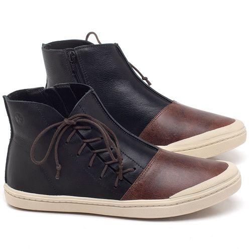 Laranja_Lima_Shoes_Sapatos_Femininos_Tenis_Cano_Alto_em_Couro_Preto_-_Codigo_-_141073_1