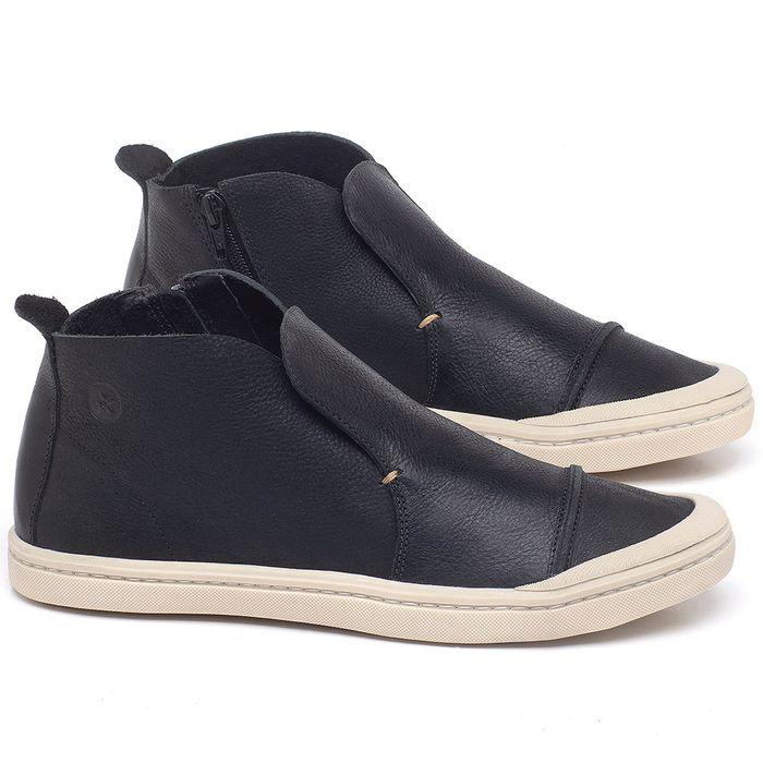 Laranja_Lima_Shoes_Sapatos_Masculinos_Tenis_Cano_Alto_em_Couro_Preto_-_Codigo_-_141086_1