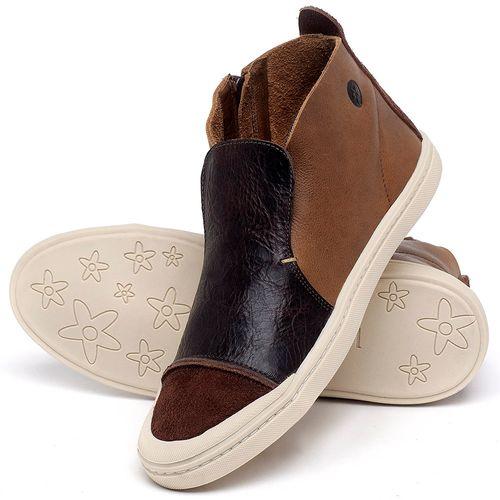 Laranja_Lima_Shoes_Sapatos_Masculinos_Tenis_Cano_Alto_em_Couro_Marrom_-_Codigo_-_141086_2