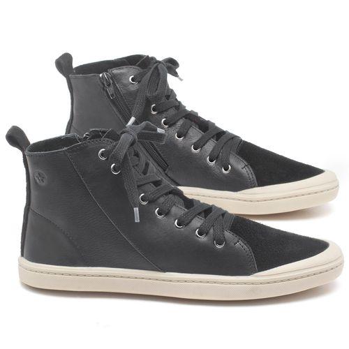 Laranja_Lima_Shoes_Sapatos_Masculinos_Tenis_Cano_Alto_em_Couro_Preto_-_Codigo_-_141087_1