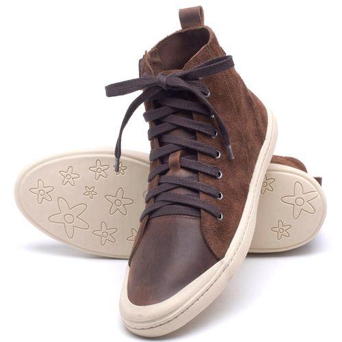 Laranja_Lima_Shoes_Sapatos_Masculinos_Tenis_Cano_Alto_em_Couro_Marrom_-_Codigo_-_141087_2