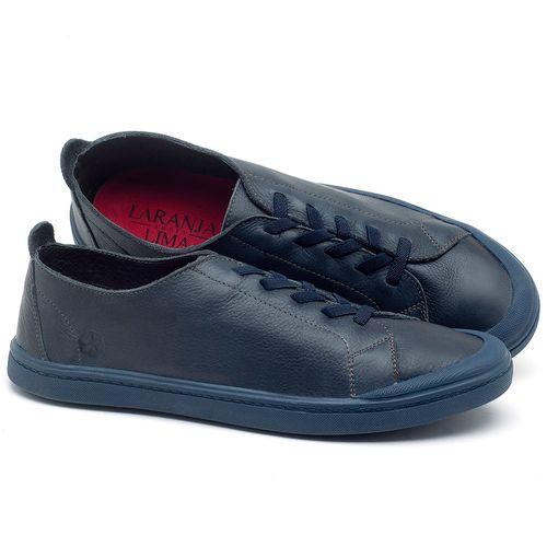 Laranja_Lima_Shoes_Sapatos_Masculinos_Tenis_Cano_Baixo_em_Couro_Azul_-_Codigo_-_141088_1