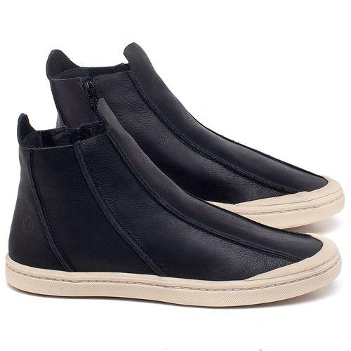 Laranja_Lima_Shoes_Sapatos_Masculinos_Tenis_Cano_Alto_em_Couro_Preto_-_Codigo_-_141140_1