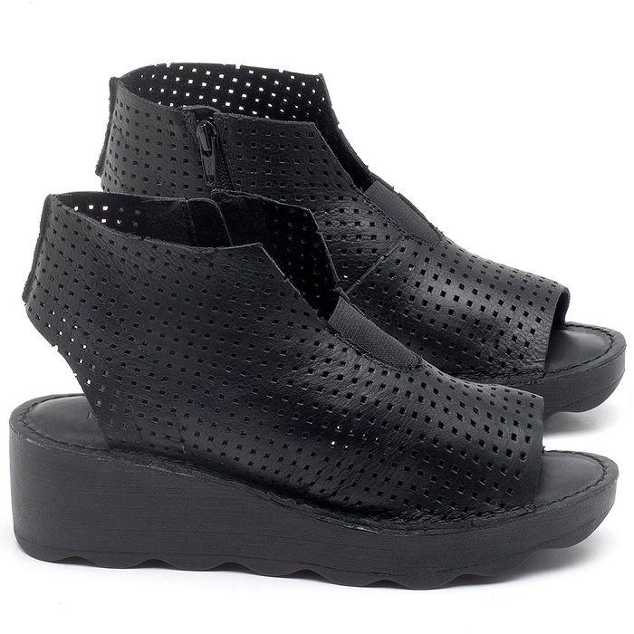 Laranja_Lima_Shoes_Sapatos_Femininos_Ana_Bela_Tratorada_Salto_de_Frente_2_cm_e_Atras_5_cm_em_Couro_Preto_-_Codigo_-_141104_1