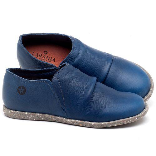 Laranja_Lima_Shoes_Sapatos_Femininos_Flat_Shoes_em_Couro_Azul_-_Codigo_-_137221_1