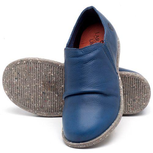 Laranja_Lima_Shoes_Sapatos_Femininos_Flat_Shoes_em_Couro_Azul_-_Codigo_-_137221_2