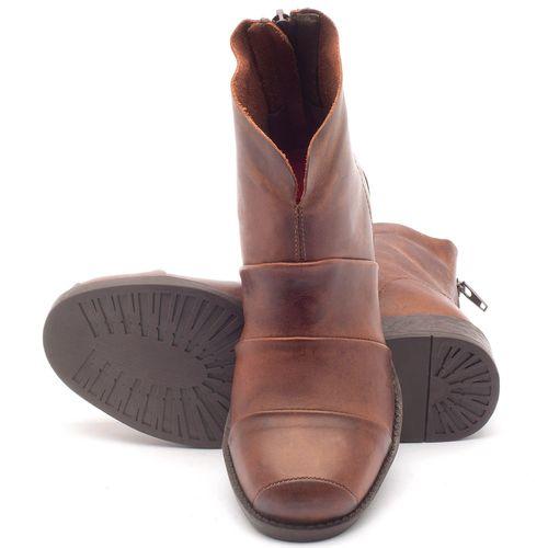 Laranja_Lima_Shoes_Sapatos_Femininos_Bota_Cano_Curto_Salto_de_3_cm_em_Couro_Marrom_-_Codigo_-_141001_2