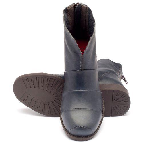 Laranja_Lima_Shoes_Sapatos_Femininos_Bota_Cano_Curto_Salto_de_3_cm_em_Couro_Marinho_-_Codigo_-_141001_2