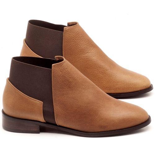Laranja_Lima_Shoes_Sapatos_Femininos_Bota_Cano_Curto_Salto_de_2_cm_em_Couro_Bicolor_-_Codigo_-_9436_1