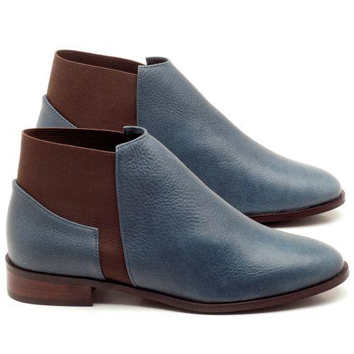 Laranja_Lima_Shoes_Sapatos_Femininos_Bota_Cano_Curto_Salto_de_2_cm_em_Couro_Marinho_-_Codigo_-_9436_1