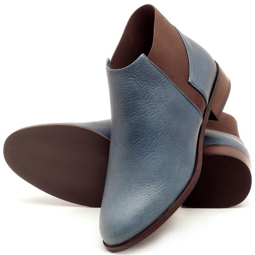 Laranja_Lima_Shoes_Sapatos_Femininos_Bota_Cano_Curto_Salto_de_2_cm_em_Couro_Marinho_-_Codigo_-_9436_2