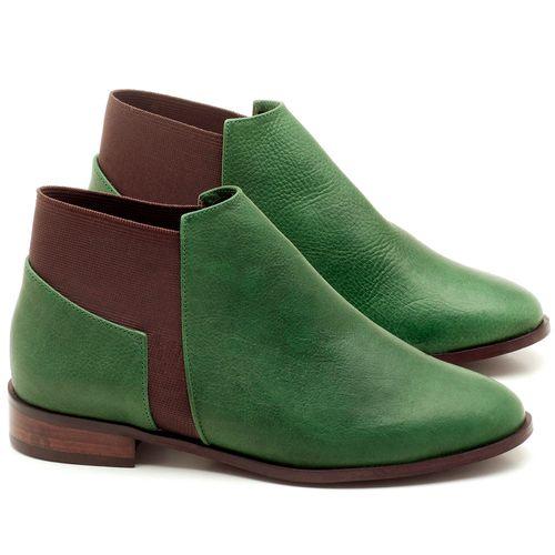 Laranja_Lima_Shoes_Sapatos_Femininos_Bota_Cano_Curto_Salto_de_2_cm_em_Couro_Verde_-_Codigo_-_9436_1