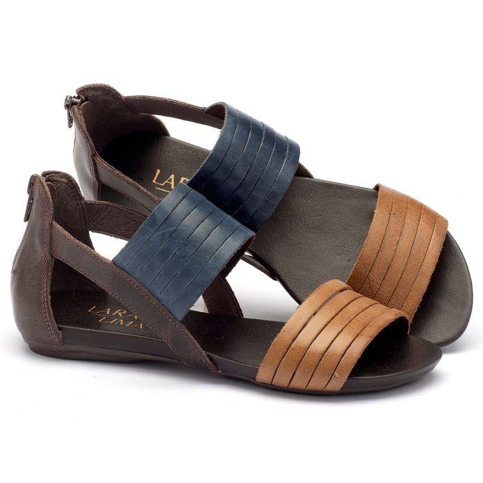 Laranja_Lima_Shoes_Sapatos_Femininos_Sandalia_Rasteira_Flat_em_Couro_Multicolor_-_Codigo_-_137009_1