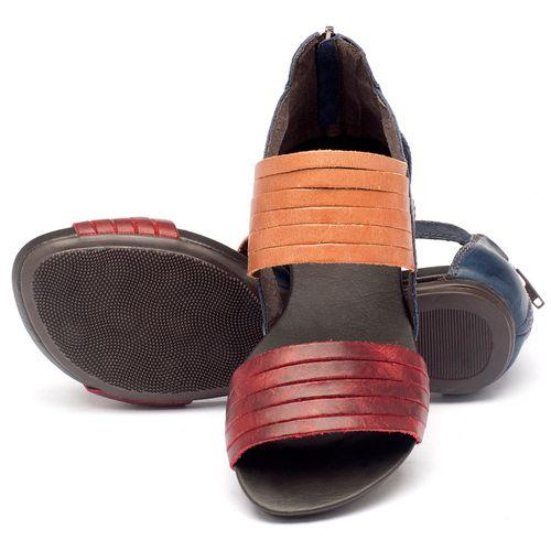 Laranja_Lima_Shoes_Sapatos_Femininos_Sandalia_Rasteira_Flat_em_Couro_Multicolor_-_Codigo_-_137009_2