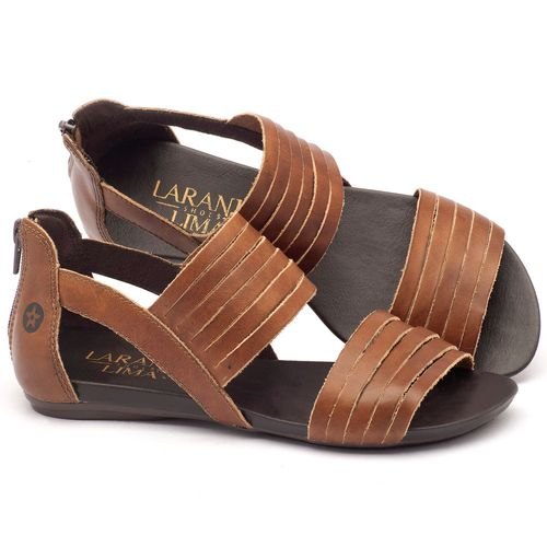 Laranja_Lima_Shoes_Sapatos_Femininos_Sandalia_Rasteira_Flat_em_Couro_Caramelo_-_Codigo_-_137009_1