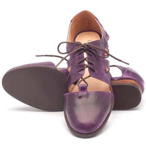 Laranja_Lima_Shoes_Sapatos_Femininos_Oxford_Laranja_Lima_Shoes_Salto_de_2_cm_em_Couro_Roxo_-_Codigo_-_9410_2