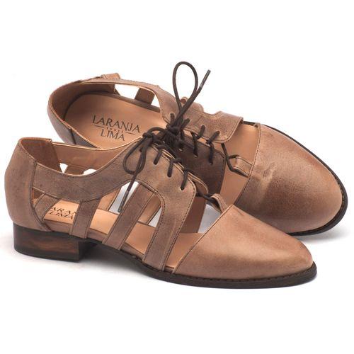 Laranja_Lima_Shoes_Sapatos_Femininos_Oxford_Laranja_Lima_Shoes_Salto_de_2_cm_em_Couro_Bege_-_Codigo_-_9410_1
