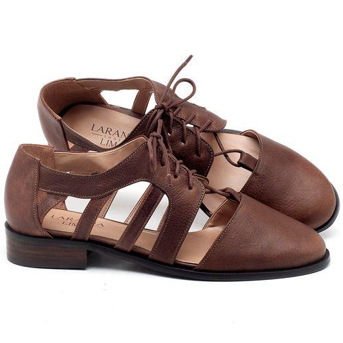 Laranja_Lima_Shoes_Sapatos_Femininos_Oxford_Laranja_Lima_Shoes_Salto_de_2_cm_em_Couro_Marrom_-_Codigo_-_9410_1